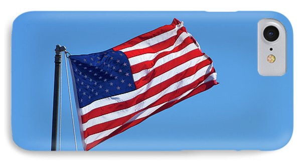 American Flag, Usa IPhone Case by David Wall