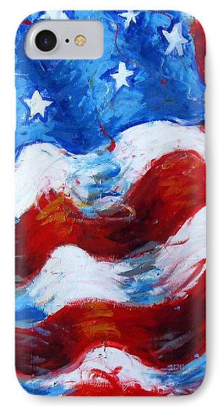American Flag Phone Case by Venus
