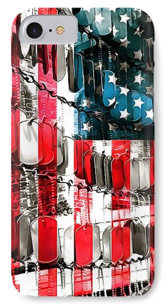American Heroes IPhone Case by Dan Sproul