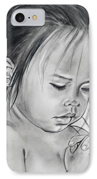 American Indian Girl Praying IPhone Case