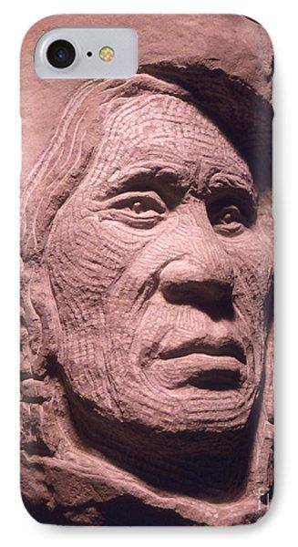 American-indian-portrait-1 IPhone Case