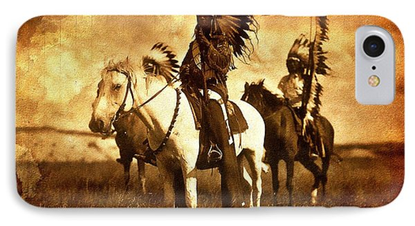 American Indians IPhone Case by Allen Beilschmidt