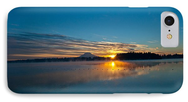 American Lake Sunrise IPhone Case by Tikvah's Hope