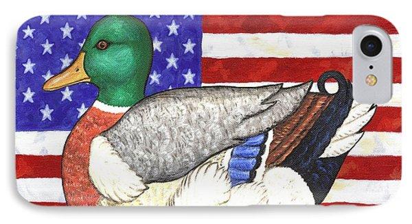 American Mallard Phone Case by Linda Mears