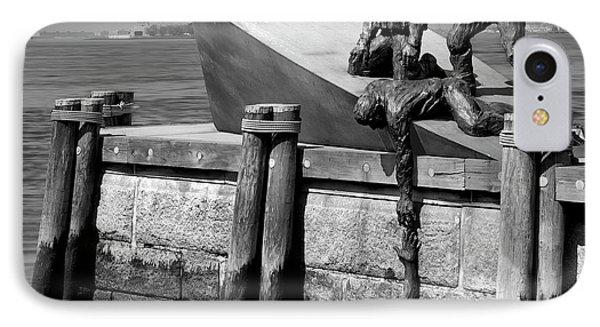 American Merchant Mariners Memorial Phone Case by Mike McGlothlen