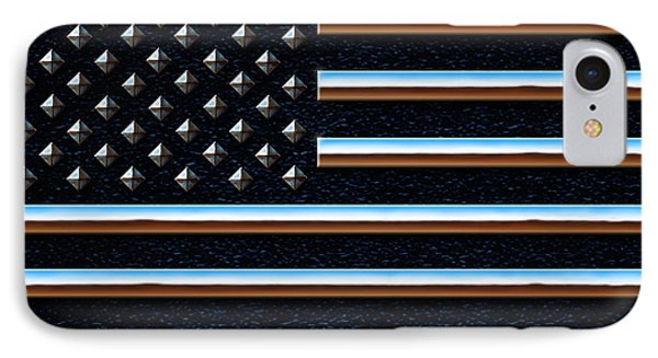 American Metal IPhone Case by Cristophers Dream Artistry