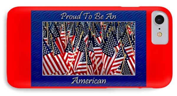 American Pride Phone Case by Carolyn Marshall