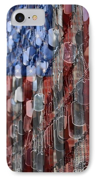 American Sacrifice IPhone Case by DJ Florek