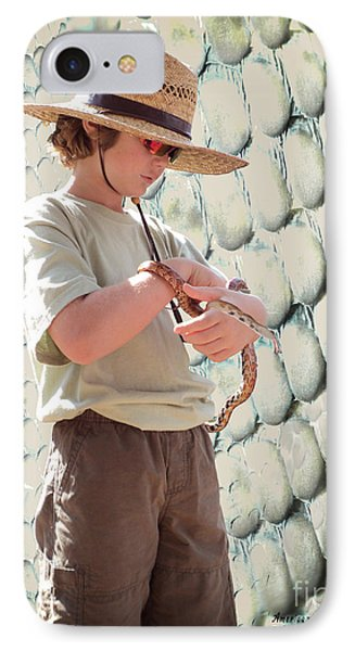 American Snake Charmer IPhone Case by Megan Dirsa-DuBois