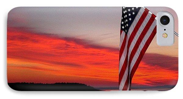 American Sunrise IPhone Case