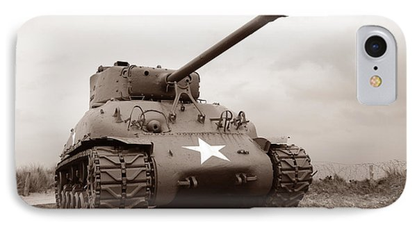 American Tank IPhone Case by Olivier Le Queinec