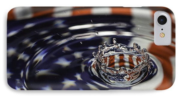 IPhone Case featuring the photograph American Water Crown by Betty Denise