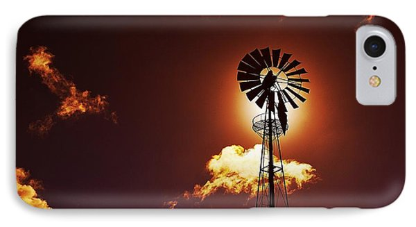 American Windmill Phone Case by Marco Oliveira