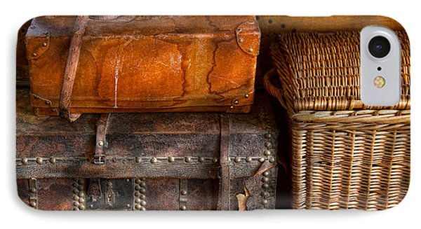 Americana - Emotional Baggage  Phone Case by Mike Savad