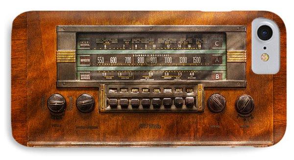 Americana - Radio - Remember What Radio Was Like Phone Case by Mike Savad