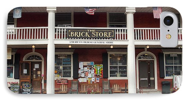 America's Oldest General Store IPhone Case by Catherine Gagne