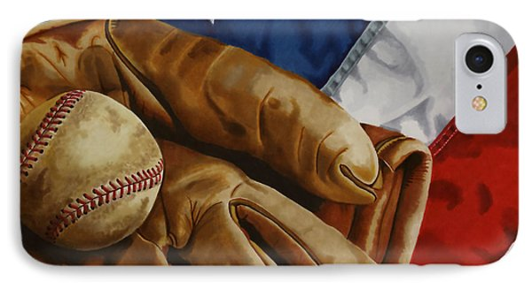 America's Pastime IPhone Case by Cory Still
