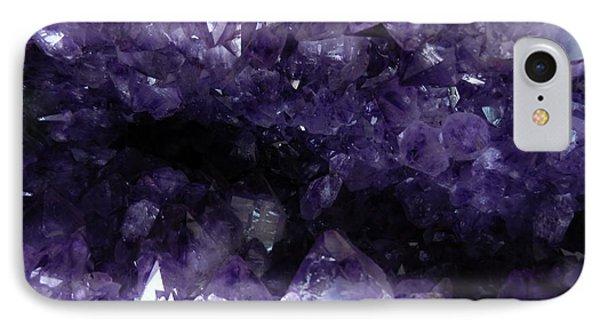 Amethyst Geode IPhone Case by Amar Sheow