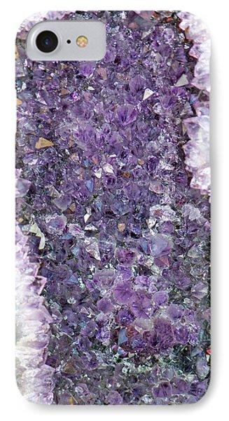 Amethyst Geode IPhone Case by Tikvah's Hope