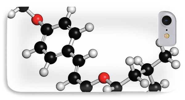 Amiloxate Sunscreen Molecule IPhone Case