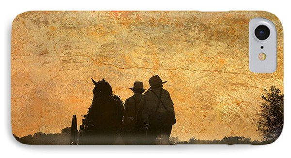 Amish After A Hard Days Work IPhone Case