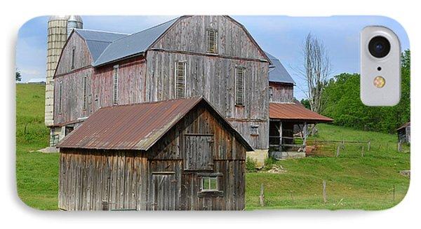 Amish Barn #2 - Woodward Pa IPhone Case