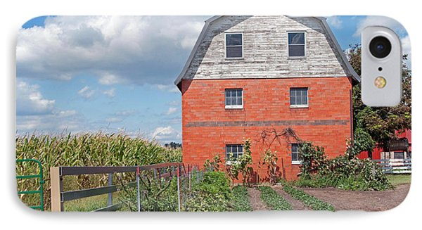 Amish Barn And Garden Phone Case by David Arment
