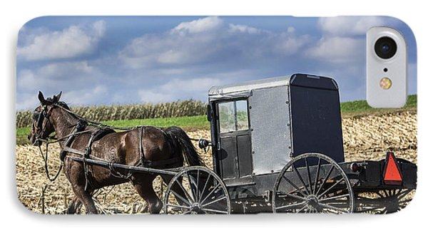 Amish Buggy IPhone Case