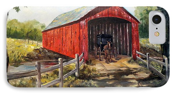 Amish Country IPhone Case by Lee Piper