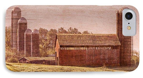 Amish Farm Phone Case by Debra and Dave Vanderlaan