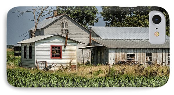 Amish Farm In Tennessee Phone Case by Kathy Clark