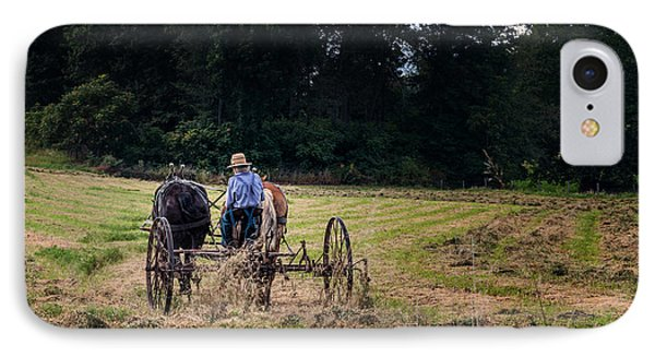 Amish Farming IPhone Case