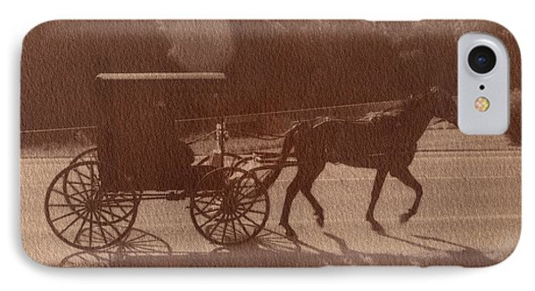 Amish Horse And Carriage IPhone Case by Scott Wittenburg