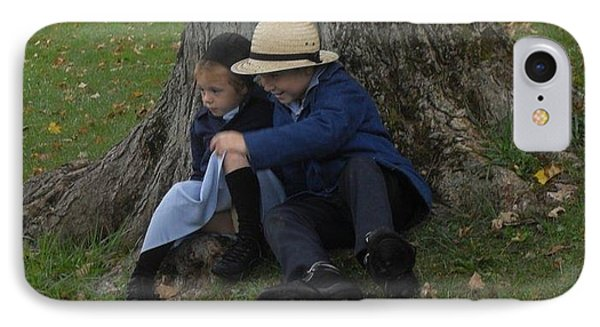 Amish Kids Phone Case by R A W M