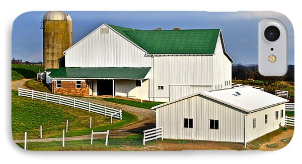 Amish Living Phone Case by Frozen in Time Fine Art Photography