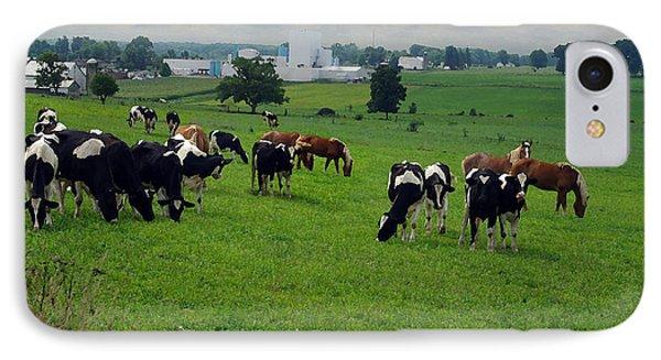 Amish Pastureland  IPhone Case