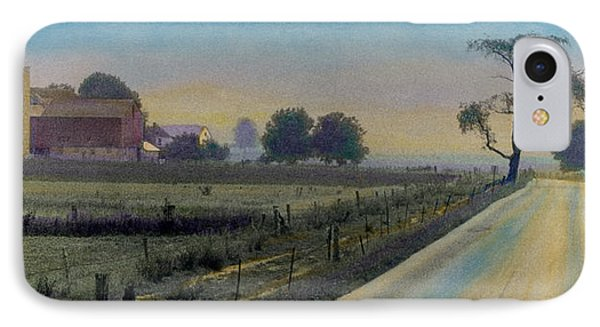 Amish Way IPhone Case by Cindy McIntyre