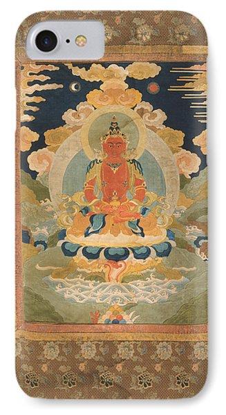 Amitayus - The Bodhisattva Of Limitless Life Phone Case by Tilen Hrovatic