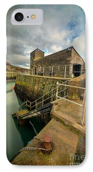 Amlwch Port Lighthouse V2 Phone Case by Adrian Evans