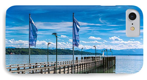 Ammersee - Lake In Bavaria IPhone Case by Juergen Klust