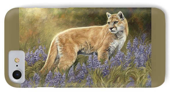 Among The Flowers IPhone Case by Lucie Bilodeau