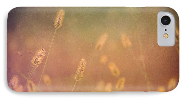 Among The Prairie Grasses IPhone Case by Julie Clements