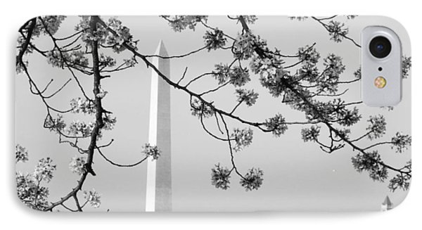 IPhone Case featuring the photograph Amongst The Cherry Blossoms by Emmy Marie Vickers