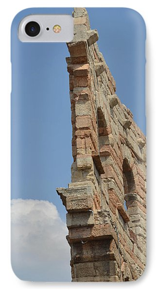 Amphitheater Wall Verona IPhone Case by Bill Mock