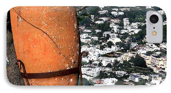 Amphora On Island Of Capri 1 IPhone Case