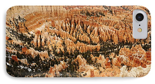Amphitheatre At Bryce Canyon IPhone Case by Larry Ricker