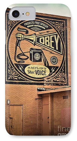 Amplify Your Voice IPhone Case by Colleen Kammerer