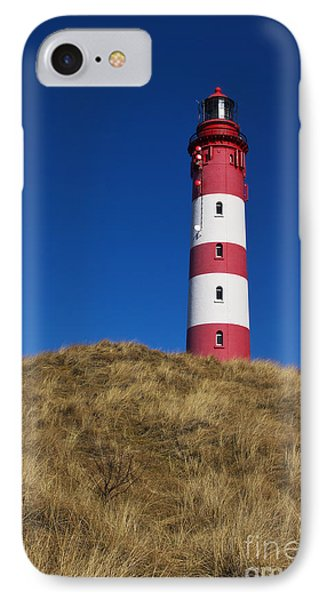Amrum Lighthouse IPhone Case by Angela Doelling AD DESIGN Photo and PhotoArt