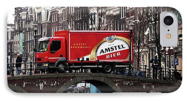 Amstel Bier Phone Case by John Rizzuto