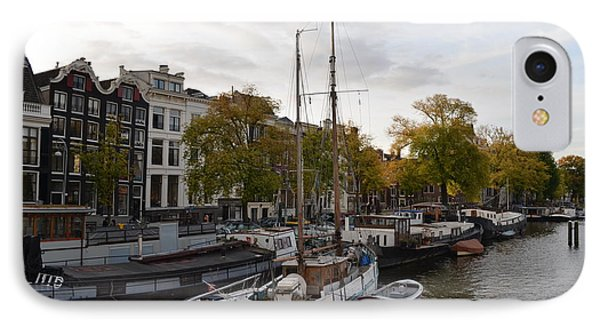 Amstel River IPhone Case by Cheryl Miller
